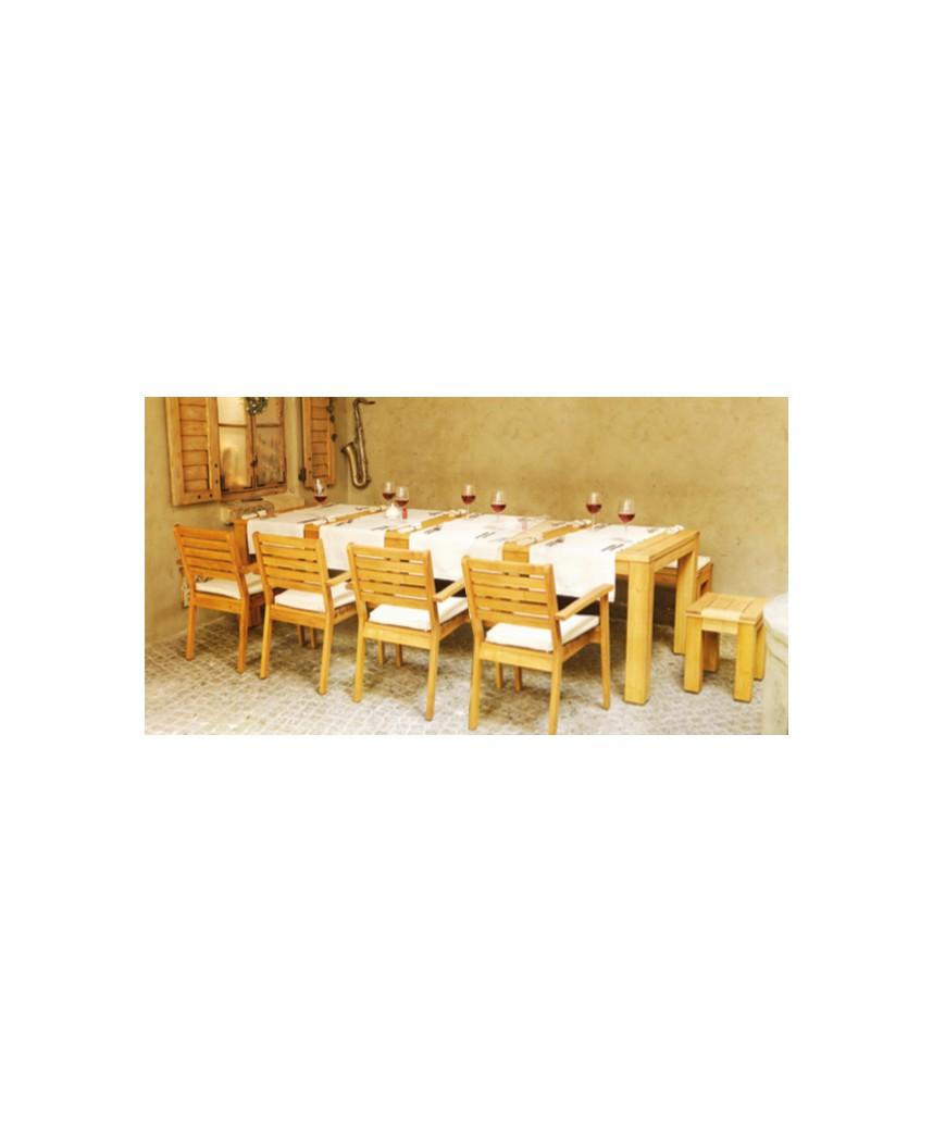 Stół Caro 220300x100 Stół Rozkładany 10 Osobowy Z Akacji Wigo Meble Ewa Gąsiorowska